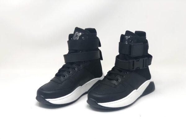 scarpetta nera e bianca